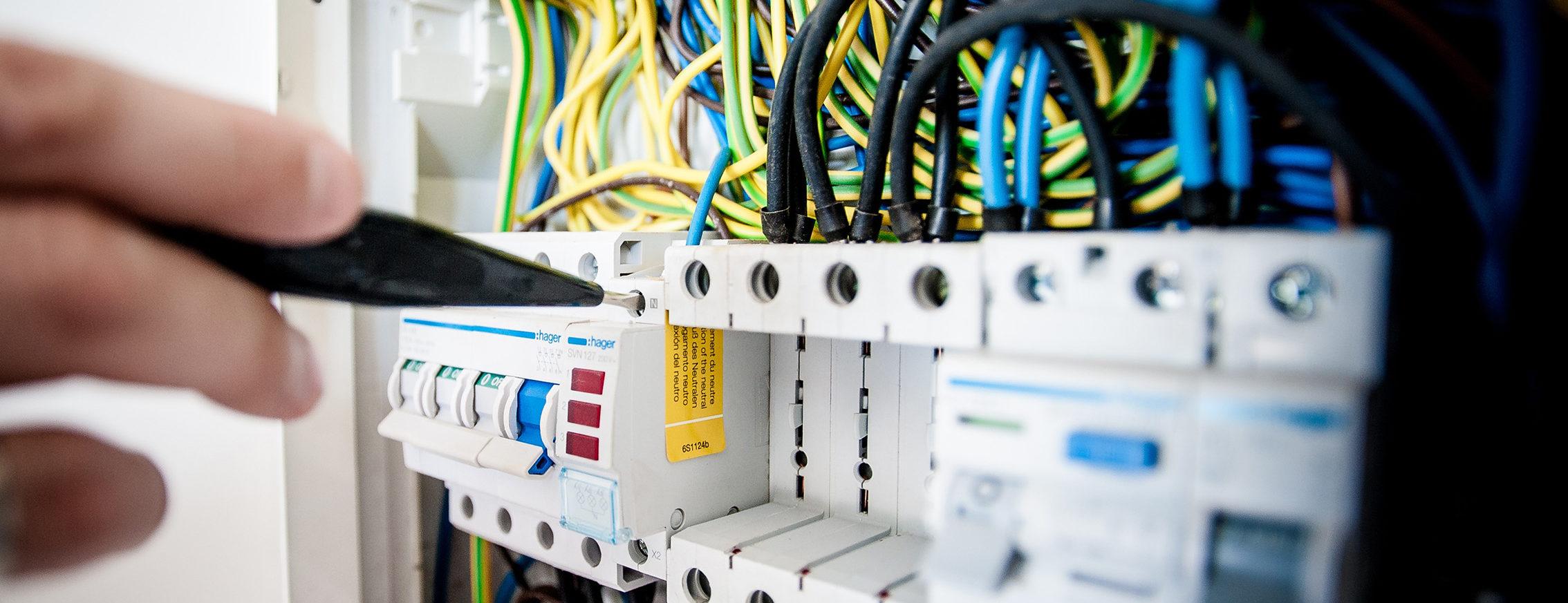 Groepenkast verdeelkast Padberg elektrotechniek