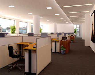 LED verlichting kantoor